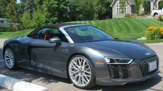 2017 Audi R8 Spyder Review