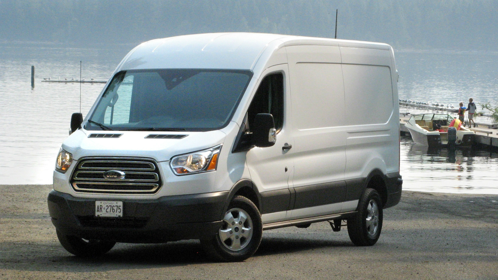 2017 Ford Transit 350 MR Van Review