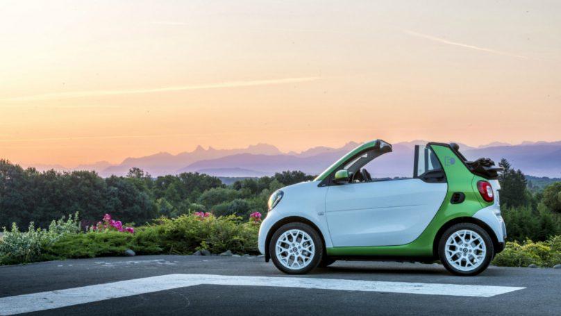 2018 Smart Fortwo Cabriolet EV Review