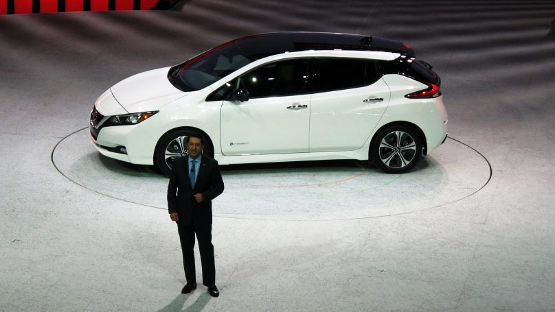 Nissan Leaf arrives with 150-mile range and priced at $29990