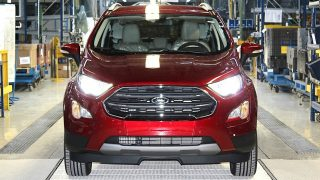 European EcoSport Production