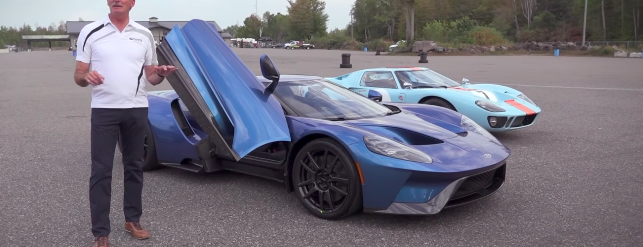 FORD GT DELIVERY