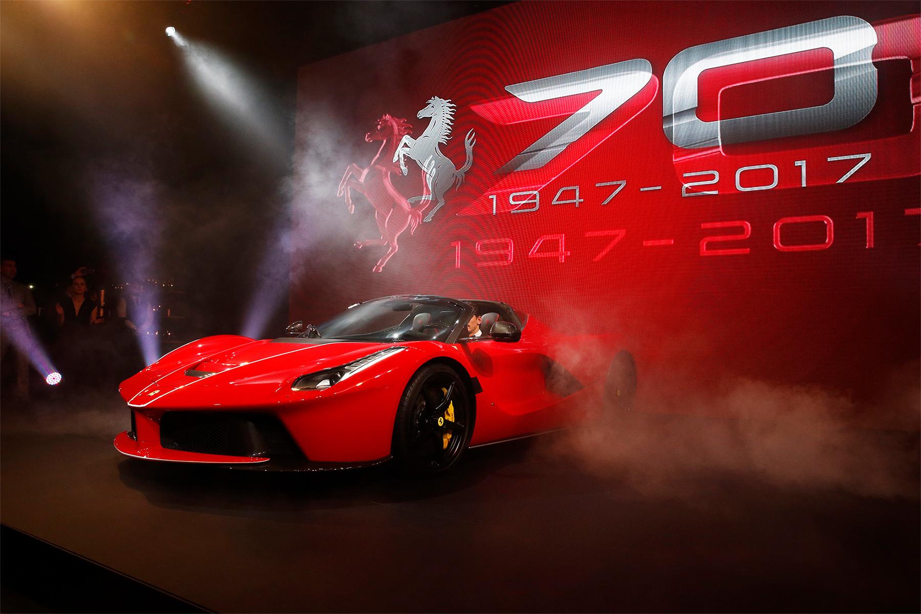 TrackWorthy - Australia celebrates 70 Years of Ferrari (1)