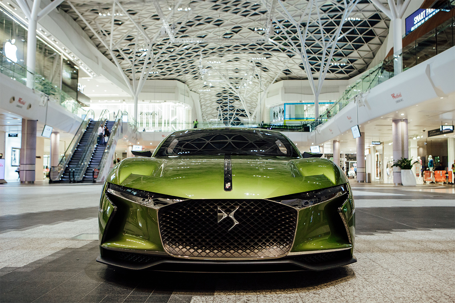 TrackWorthy - DS E-Tense at DS Urban Store in Westfield London (3)
