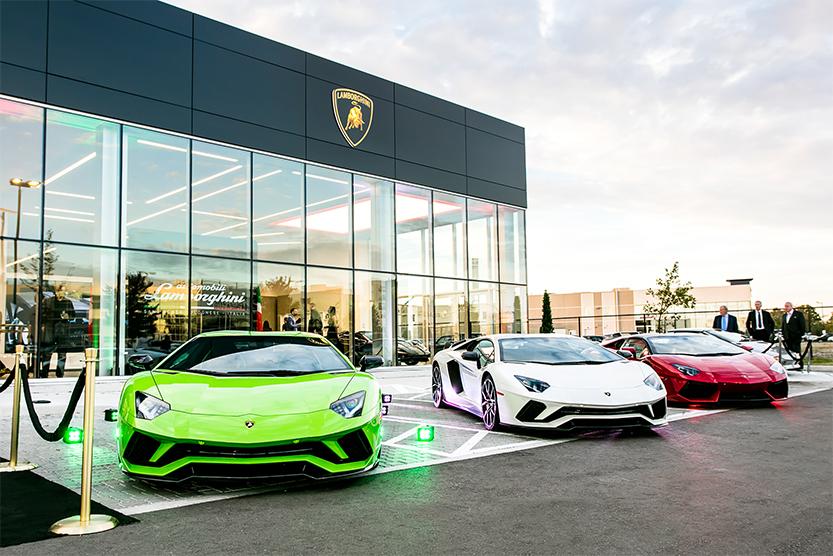 TrackWorthy - Lamborghini Uptown Toronto Grand Opening (1)