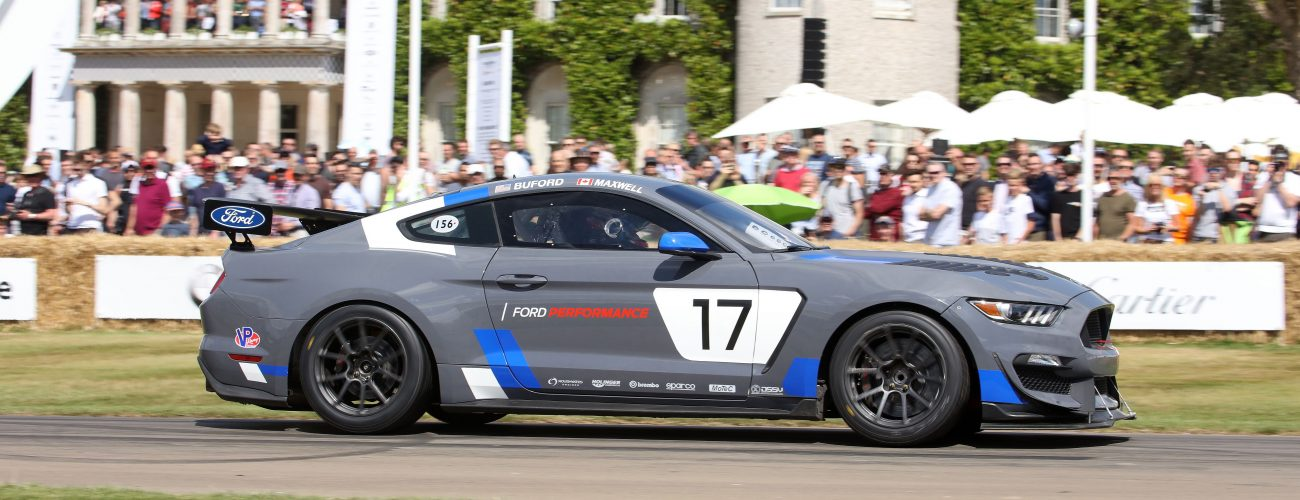 TrackWorthy - Mustang GT4 made its European debut at the 2017 Goodwood Festival of Spe...