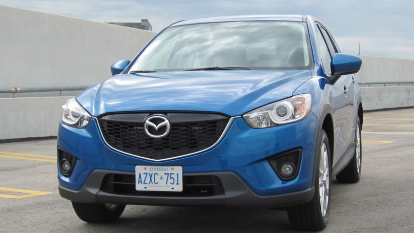 Knocking the smile off the face of Mazda