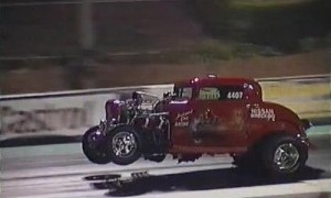 This is why drag cars have wheelie bars