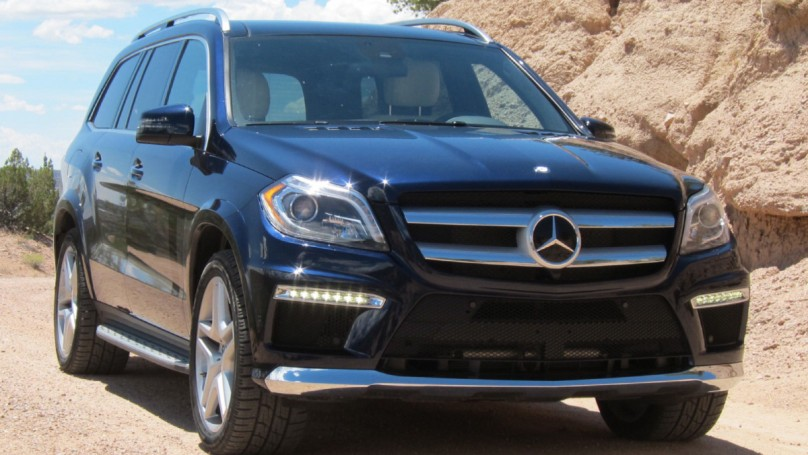 Mercedes-Benz GL-Class: like riding around in your living room