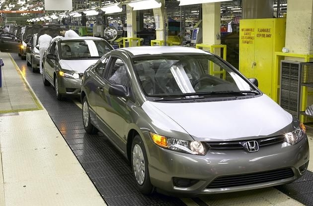 CAW: Union gaining ground at Ontario Honda plant