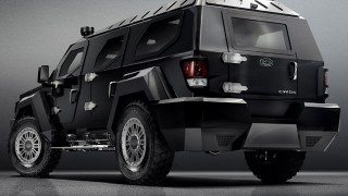 Conquest reveals new $580K Evade SUV