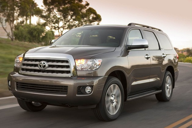 Bigger engine, Blu-Ray player for new Toyota Sequoia