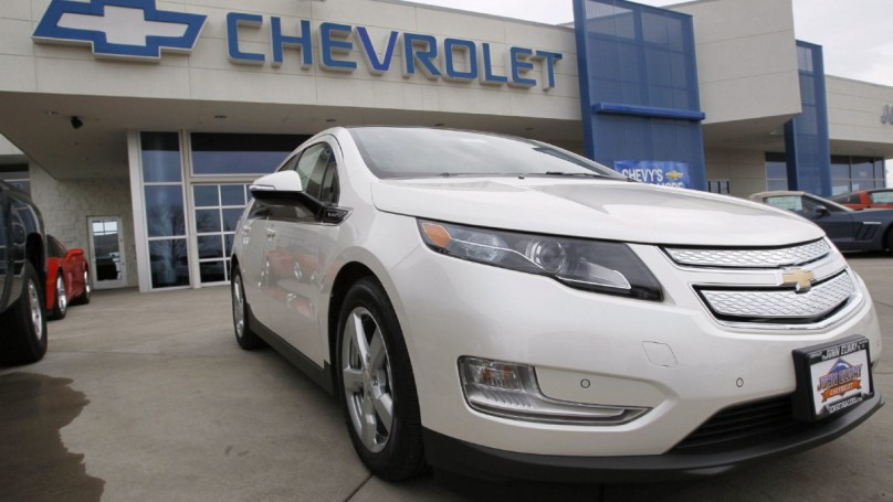 Chevy Volt a lightning rod for political sniping