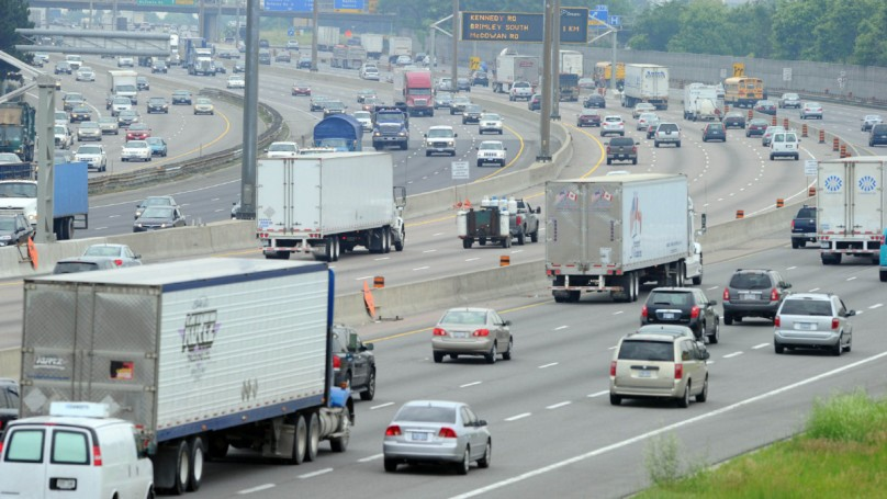 Highway 401 is safer than you think