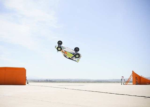 Hot Wheels sets record corkscrew jump