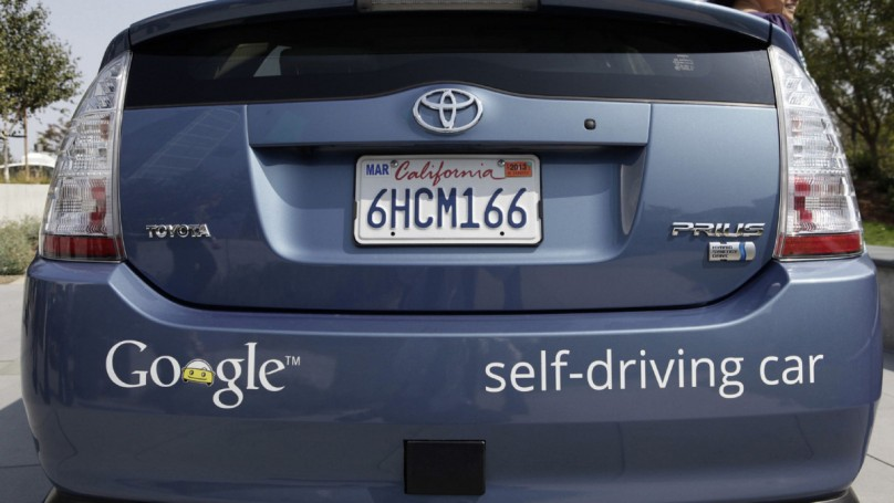 Driverless car gets its day