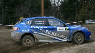 Tall Pines rally gets down and dirty