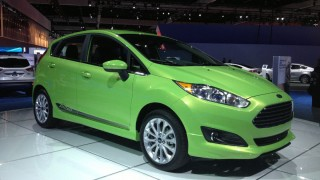 L.A. Auto Show: Fiesta showpiece at Ford display