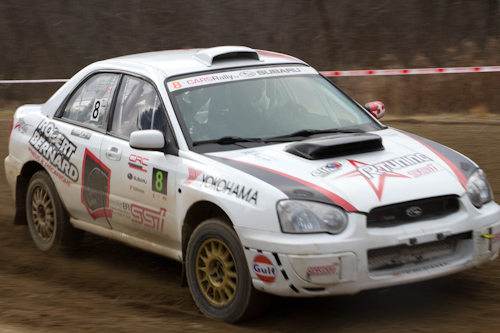 Flying finish at Rally of the Tall Pines