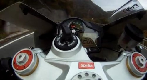 Bosnian biker hits 240 km/h in town, then posts video for all to see