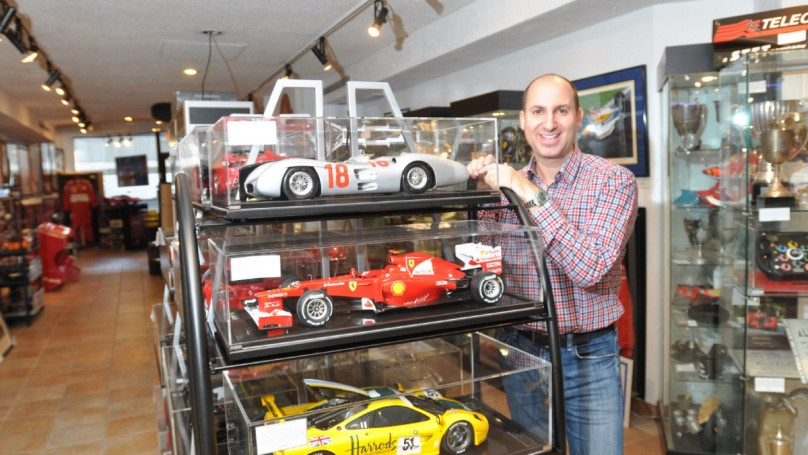 A model car for $25,000? It's not just a toy, it's art