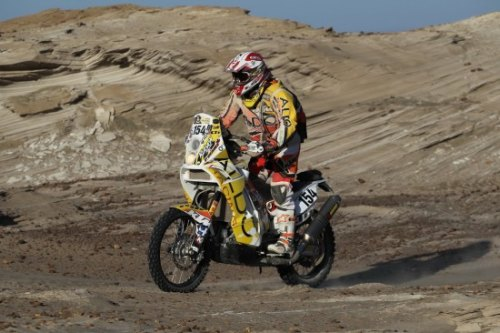 Day 4 at Dakar brings challenges for lone Canadian