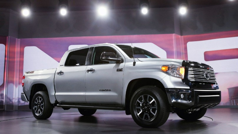 Chicago Auto Show: Windy City gets look at new Toyota Tundra