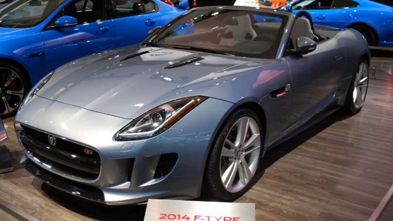 ... 2013 Toronto Auto Show: Jaguar Launches First Sports Car In 40 Years ...