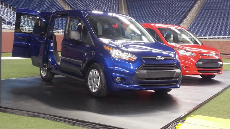 Ford Transit Connect: Euro vans take on North America
