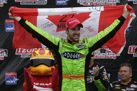 Bravo James! And is IndyCar better than F1 (they actually race)?