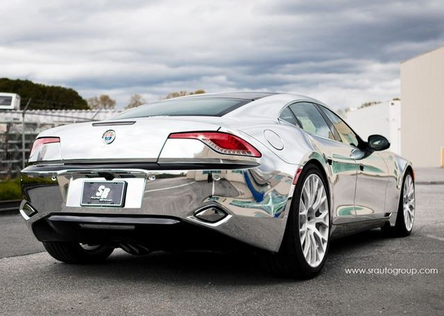 Chromed-out Karma has car hounds wondering, 'Who's your daddy?'