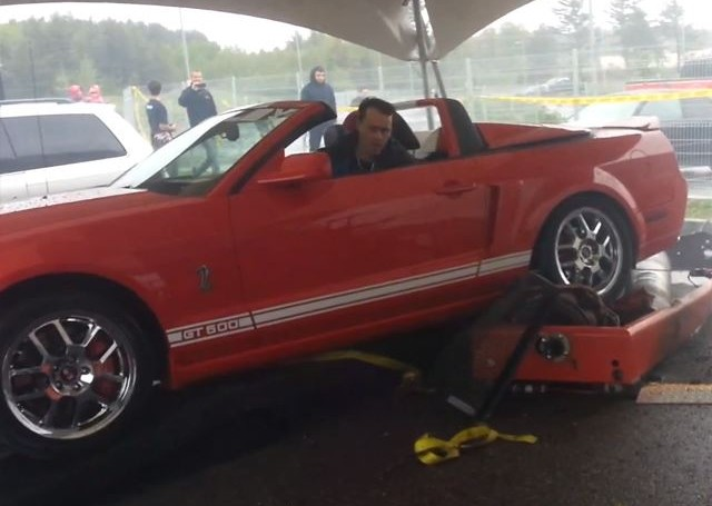 Rating a Shelby GT500's power <br>on a scale of one to KABOOM!