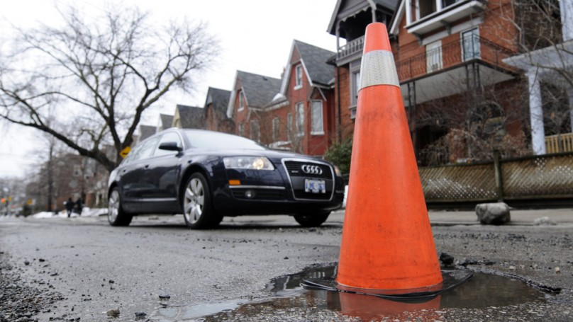 And the worst road in Toronto is ...