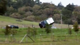 Insider Report: Man tries to jump a car, learns that's a stupid idea