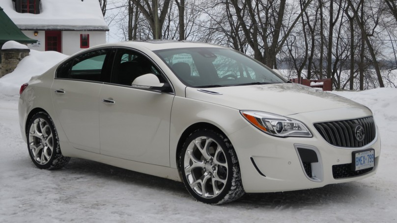 Preview: 2014 Buick Regal GS AWD