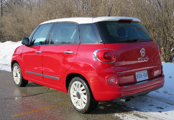 2014 Fiat 500L: Less fun and funky, but way more functional