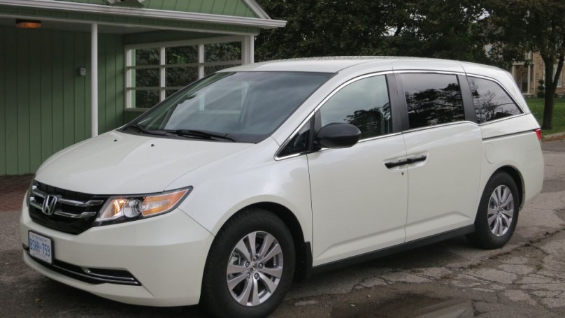 Review: 2014 Honda Odyssey-  Pricey but practical for the anti-SUV crowd