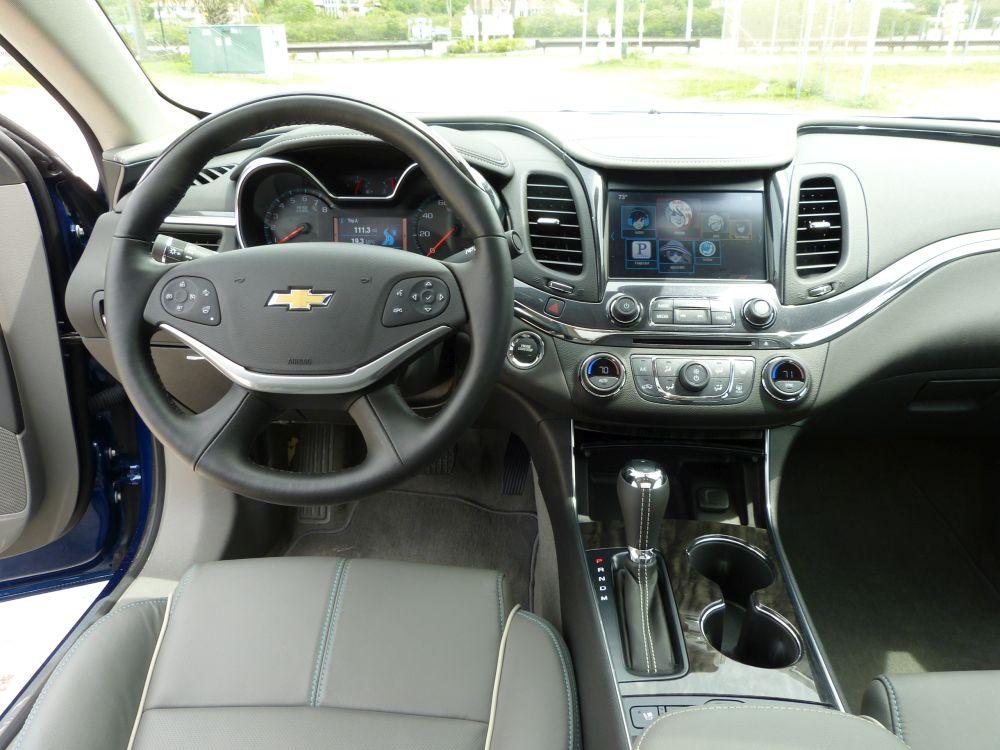 Road trip: 2014 Chevrolet Impala 2LZ- Sedan sumptuous in the Florida sun, but where's the fun?
