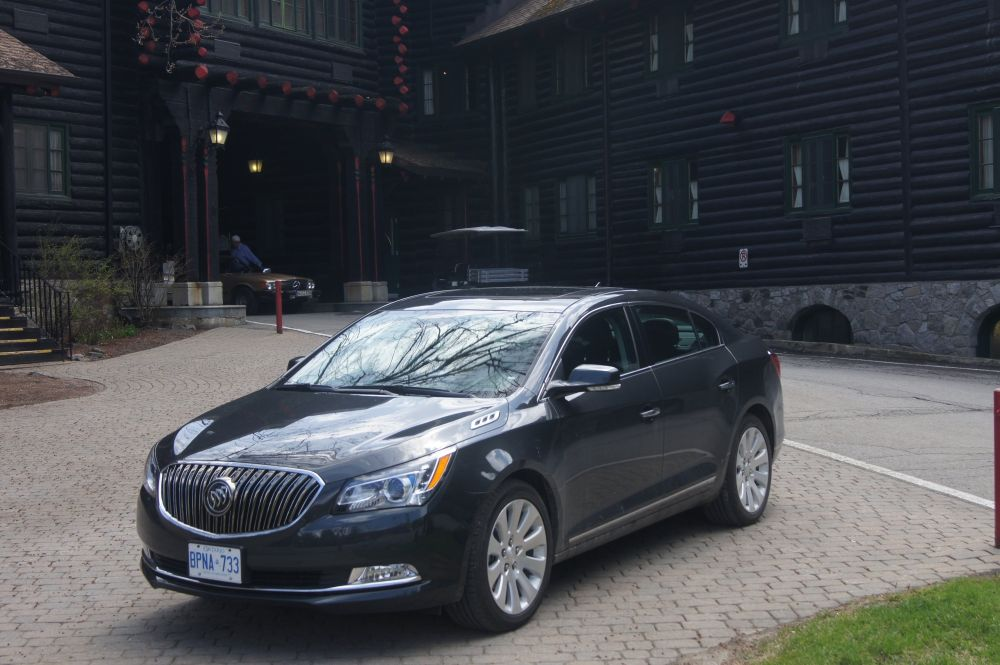 ROAD TRIP: GM's mid-luxury sedan excels on whirlwind tour of high-end Quebec hotels