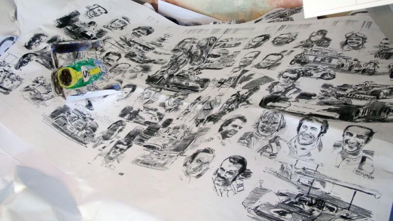 Automotive artist Ken Dallison's Canadian legacy