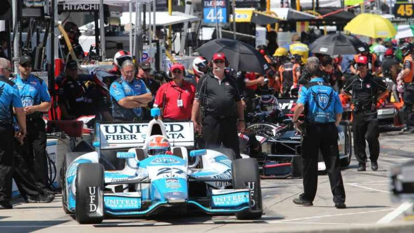 Honda Indy Toronto -  Hinchcliffe takes aim at rivals on home course