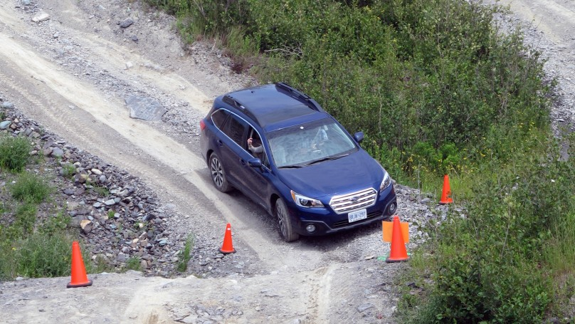 The 2015 Subaru Outback lives up to its name