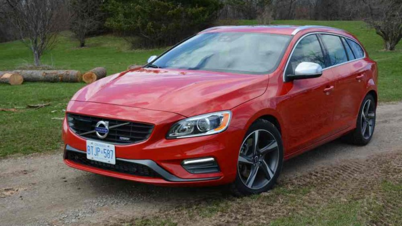 High Performance: Volvo V60 T6 R Design   Sports Car Sizzle Disguised As