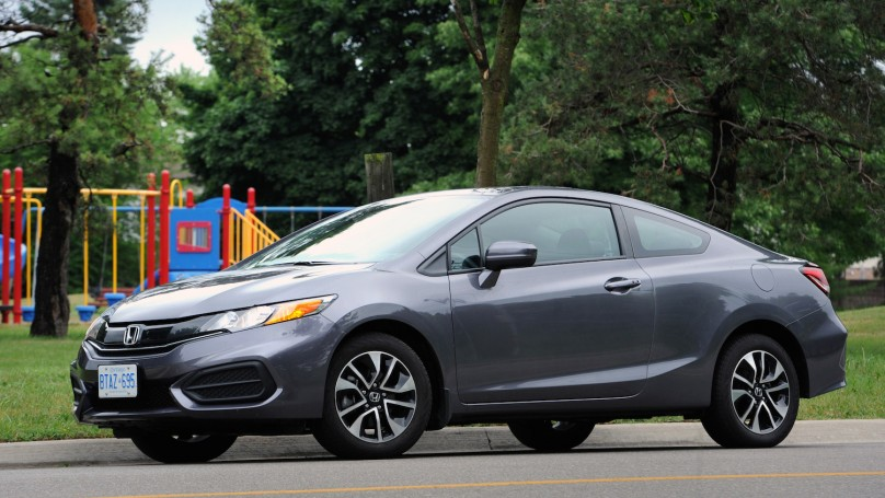 2014 Honda Civic Coupe EX review