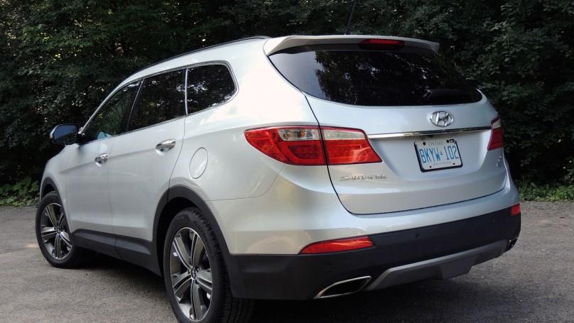 2014 Hyundai Santa Fe Xl Review Wheels Ca