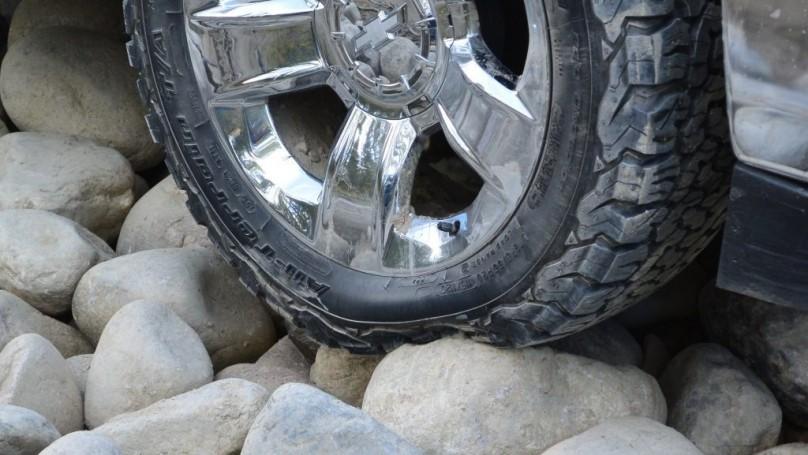 B.F. Goodrich All Terrain Tires Snow Flake Approved