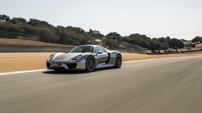 TRACK TEST: Porsche 918 Spyder