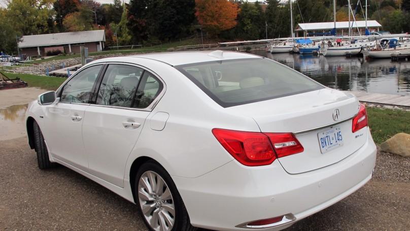 2015 Acura RLX Sport Hybrid Review