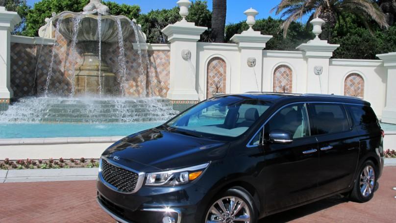 sedona review kia sxl interior luxury sx