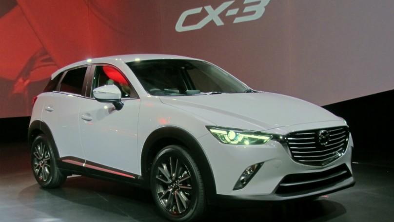 2016 Mazda CX3 reveal at LA Auto Show